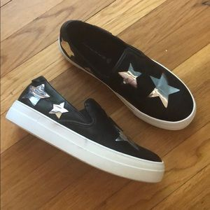 Steve Madden Star platform slip on sneakers